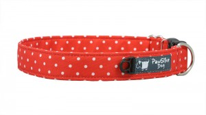 OBROŻA HEAVY POLKA DOTS RED